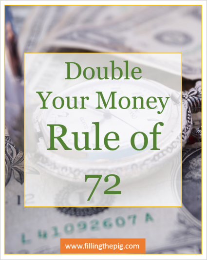 Rule of 72 – Rate of Return and Double Your Money