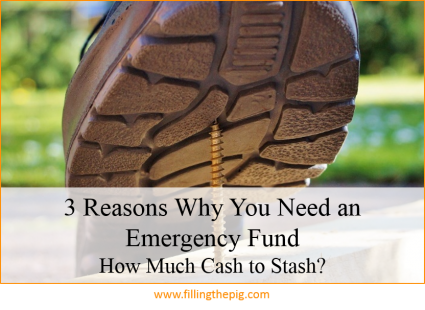 3 Reasons Why You Need an Emergency Fund - How Much Cash to Stash