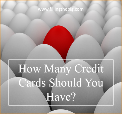 How Many Credit Cards Should You Have? My Credit Score with One Credit Card