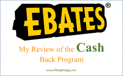 Ebates Review: My Review of the Cash Back Program