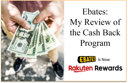 Ebates Review (Rakuten Rewards): My Review of the Cash Back Program