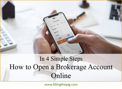 How to Open a Brokerage Account Online, In 4 Simple Steps